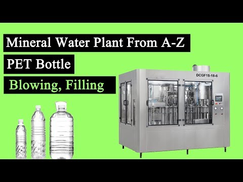 Drinking Water Bottling Plant and Mineral Water Production Line Solution from China