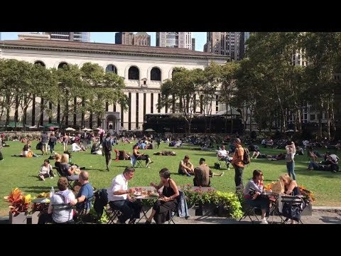 Sights & Sounds of NYC: Bryant Park (Manhattan)