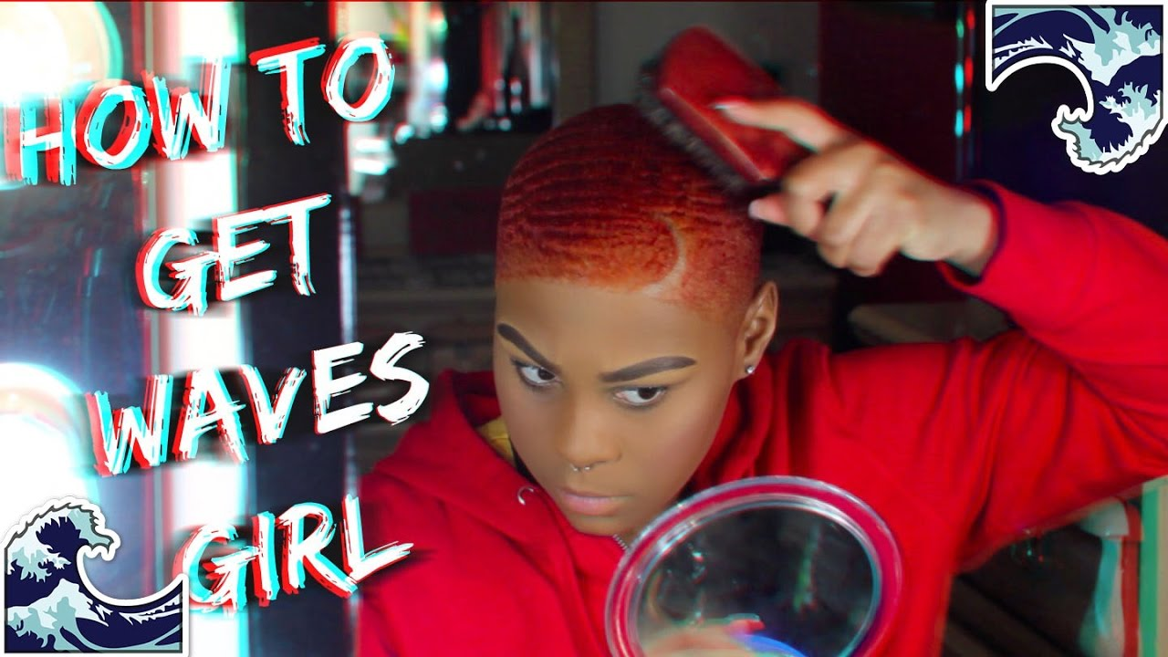 How To Get Waves  For Women  Products I Use - Youtube-2091