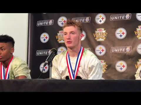 Gateway press conference after winning WPIAL Championship