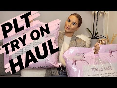 PRETTY LITTLE THING TRY ON HAUL   NADIA ANYA   AD