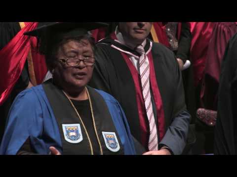 Faculty of Medical and Health Sciences and Faculty of Science Autumn Graduation Ceremony 2016