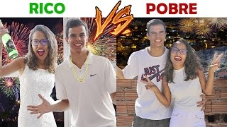 RICO VS POBRE - ANO NOVO! - KIDS FUN