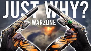 The Most Broken Overpowered thing EVER in COD Warzone...