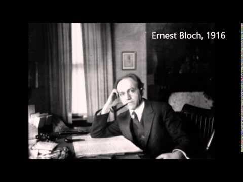 Bloch Quartet No. 1 (Stuyvesant Quartet, 1939)