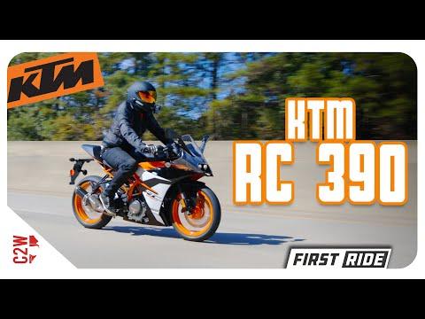 2019 KTM RC 390 | First Ride