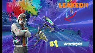 FORTNITE FREE V-BUCKS GIVEAWAY BIJ DE 700 SUBS/NEW ABSTRACT SKIN!! /50V50/[lvl60/281 WINS]
