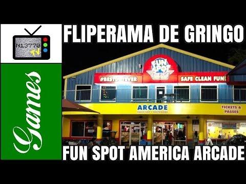 FLIPERAMA DE GRINGO: FUN SPOT AMERICA ARCADE (OLD TOWN / KISSIMMEE) - 20.10.17 - N13770 TV