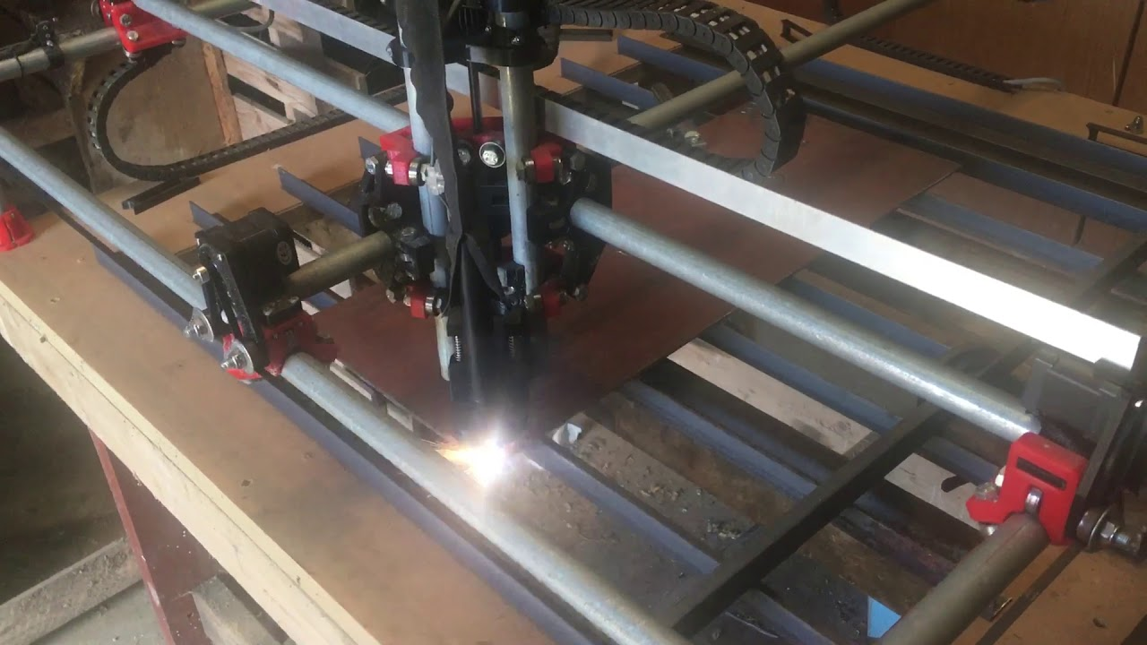 MPCNC plasma cutting steel