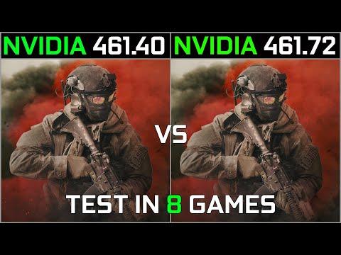 Nvidia Drivers 461.40