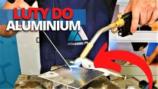 Video: Spoiwo-lut do lutowania aluminium alu2200