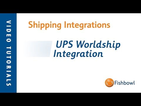 UPS WorldShip Integration - Shipping Integrations