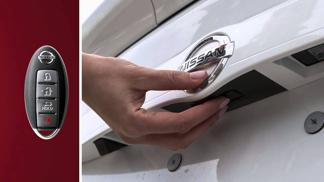 2015 Nissan Versa Sedan Trunk Release Youtube