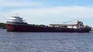 Wilfred Sykes Great Lakes bulk freighter