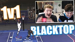 INSANE 1v1 BLACKTOP vs. JESSER! NBA 2K18 **EXPENSIVE FORFEIT**