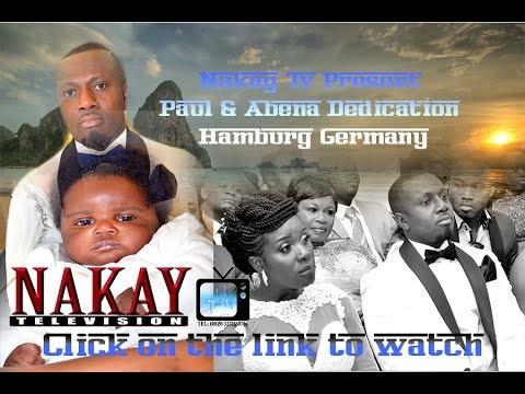 PAUL AND ABENA CHILD DEDICATION HAMBURG