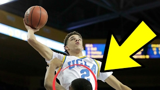 LONZO BALL GETS DUNKED ON BY ASIAN FILIPINO UCLA STUDENT!