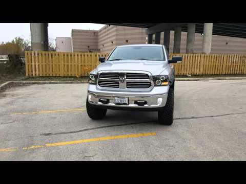 2014 dodge ram 1500 lifted ccfl halo headlights review #2