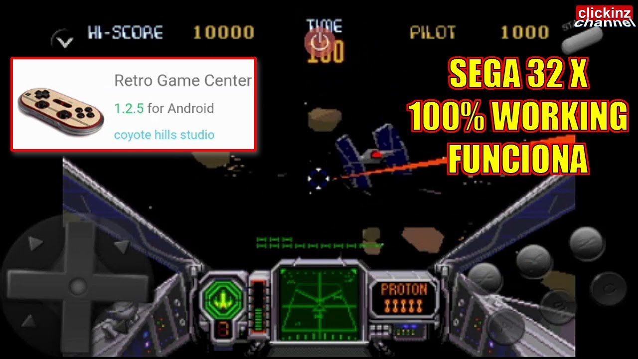 Download & Play Sega 32x games on Android devices: Retro Game Center  emulator Star Wars Arcade phone