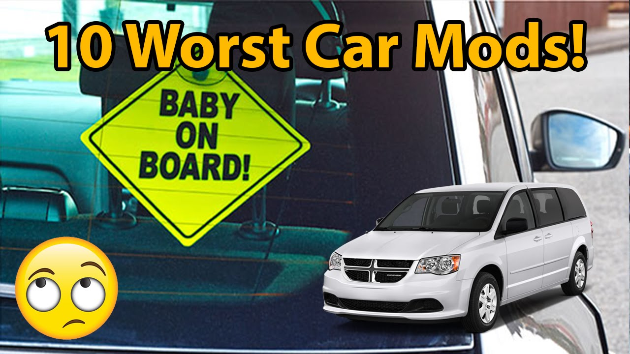 10 Worst Car Mods Youtube