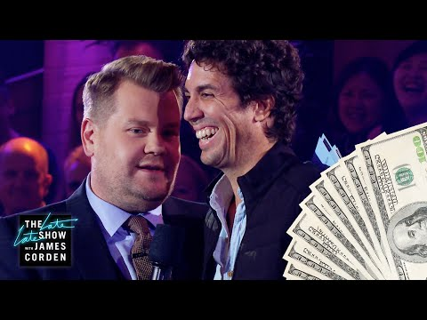 James Corden's Audience Rows Compete for $3k Cash