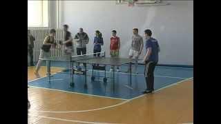 Настольный теннис школьников