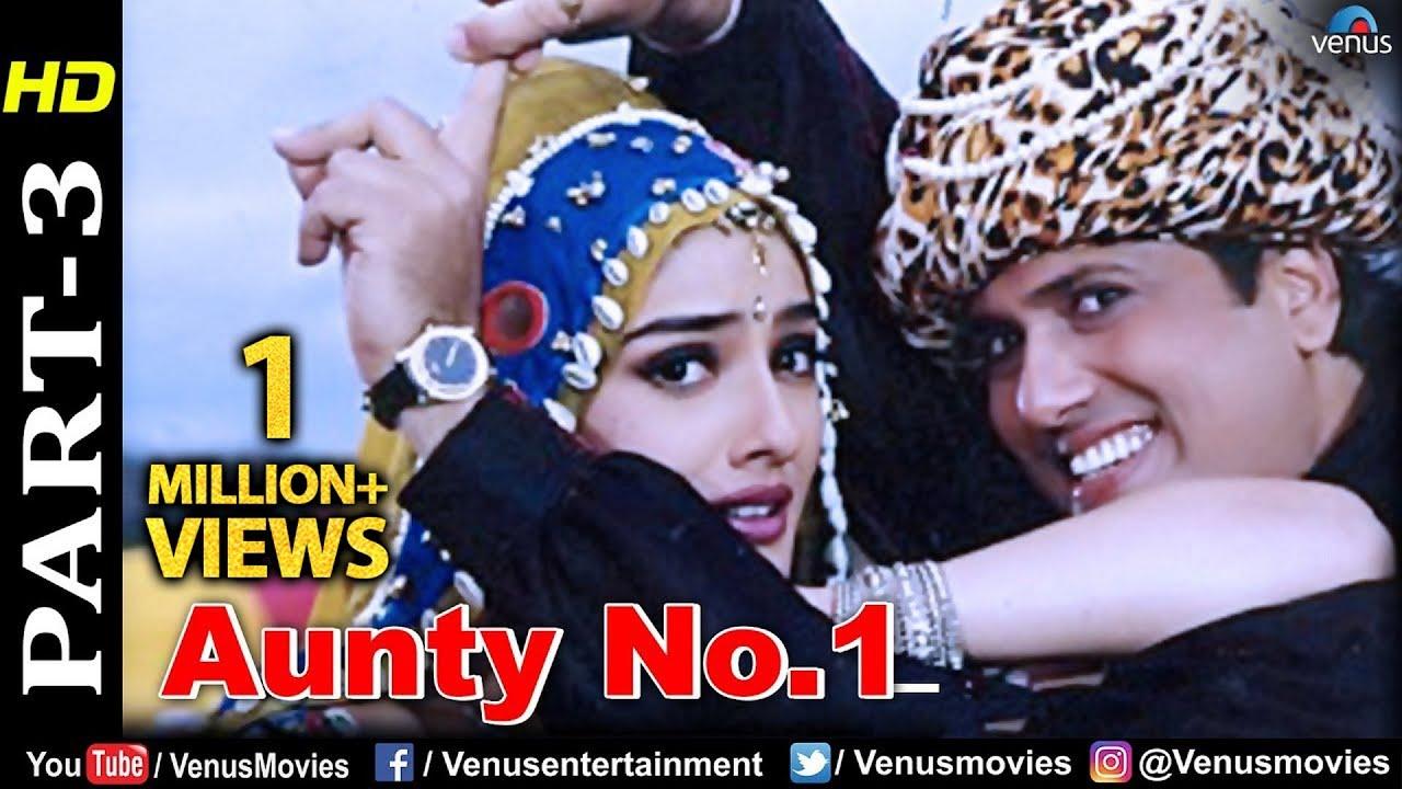 Aunty No 1 - Part 3 | Govinda | Raveena Tandon | Best Bollywood Comedy  Scenes