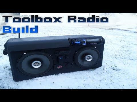 ToolBox Radio Build   In-Depth   DIY