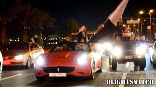 Exotic & Rare Cars on Qatar National Day 2012