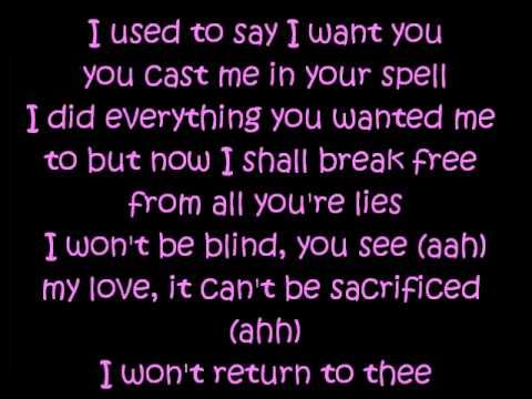 Cinderella lyrics - Britney Spears