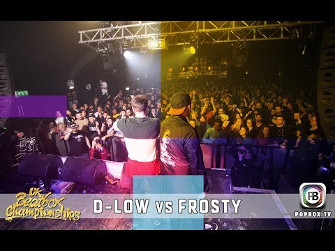 D-low vs Frosty | Solo Final | 2017 UK Beatbox Championships