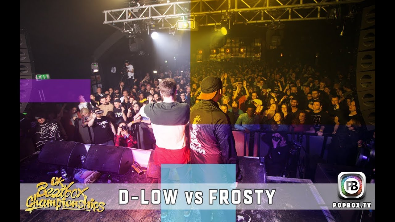 D-low vs Frosty   Solo Final   2017 UK Beatbox Championships