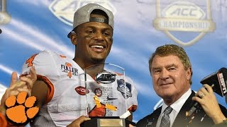 """Deshaun Watson: """"This One Is More Special"""" After Clemson"""
