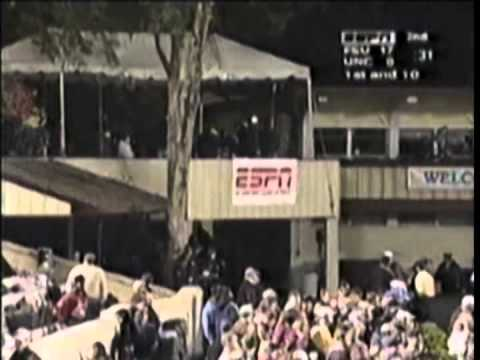 #2 Florida State at #5 North Carolina - Football - Nov. 8, 1997