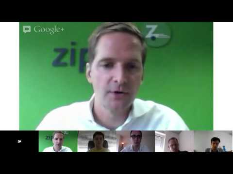 LeWeb Google+ Hangout with Frerk-Malte Feller