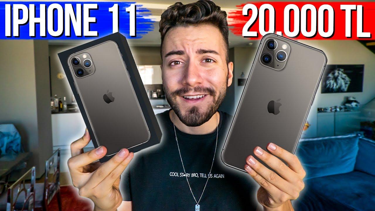 Iphone 11 Pro Max Aldim 20 000 Tl Cekilis Var Youtube