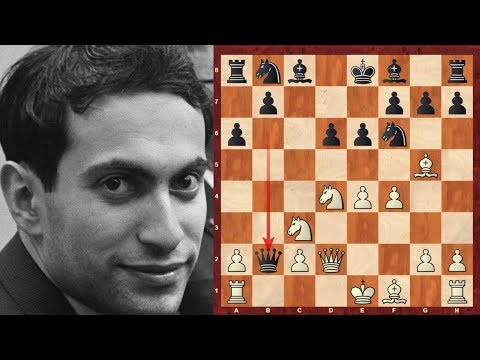 One of Mikhail Tal's sharpest Sicilian Poison pawn games! :  vs Alexander Tolush - USSR Ch. 1956