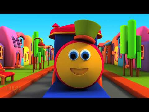 Bob, The Train | Alphabet Adventure | ABC Song | Nursery Rhymes | kids songs