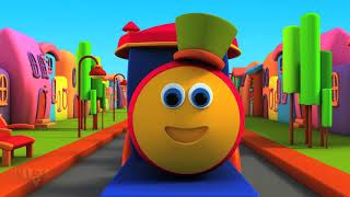 Repeat youtube video Bob The Train | Alphabet Adventure | | Children English Learning Videos |  Songs For Kids To Sing