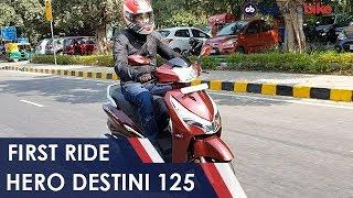 Hero Destini 125 First Ride Review | NDTV carandbike