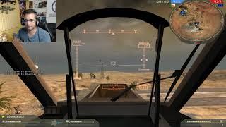 Battlefield 2 Operación Pantalla de Humo 1 Heli vs Todos