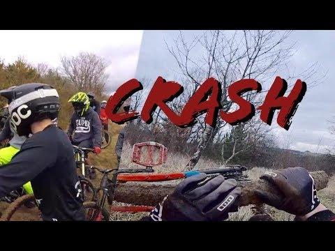 CRASH ! // On teste l'enduro // Session Team CBD
