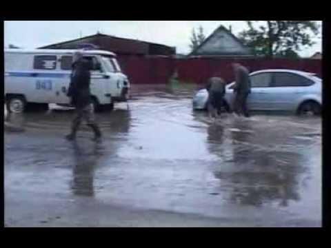 Карталы,район Полтавка Наводнение