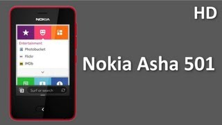 Nokia Asha 501 Mobile Price and Specifications beauty full device in affordable price