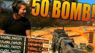 Black Ops 3 50 BOMB LIVE GAMEPLAY! (Come Hang out with #TheRace!)
