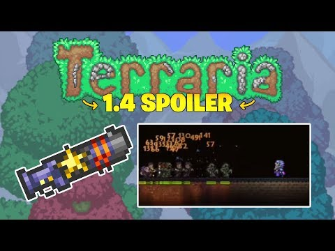 Terraria 1.3.6 - Classic Weapon gets a HUGE Upgrade! (2018 Update!)