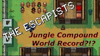 Jungle Compound - Day 1 Escape! (World Record?!?) | The Escapists [XBOX ONE]