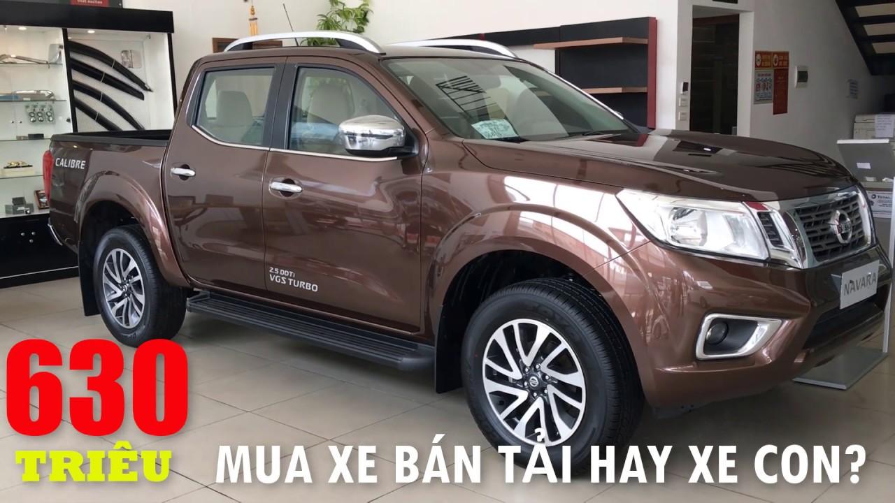 Nissan Navara EL 2020 giá RẺ hơn cả XE CON?