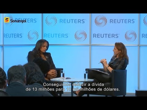 Isabel dos Santos @ Oil&Money 2017 & Reuters Newsmakers Interview