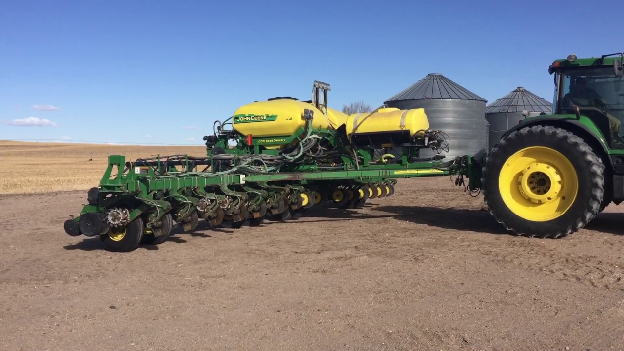 2007 John Deere 1770nt 16 Row Ccs Planter Youtube